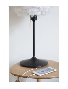 Podstawa stołowa do lamp Umage Champagne Table 42 cm biała 4045