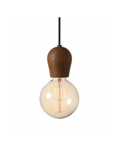 Lampa Bright Sprout -dymiony dąb+przewód czarny 110103+310103