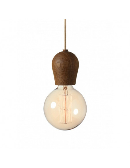 Lampa Bright Sprout- dymiony dąb- 110103+310115
