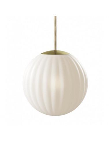 LAMPA BRIGHT MODECO BRASS NORDIC TALES - PRZEWÓD CREMA 110901