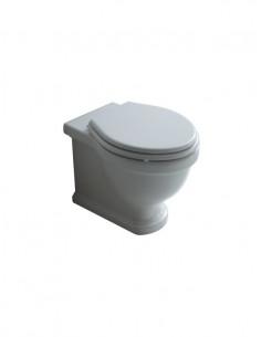 Miska WC stojąca biała Retro Nouveau BDS-RET-606011-A-WH