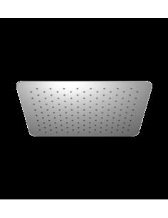Deszczownica ze stali nierdzewnej 1-funkcyjna 40 x 40 cm Omnires Ultra SlimLine WGU240