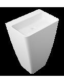 Umywalka wolnostojąca 55x43x85 cm Omnires Parma UWBO Marble+