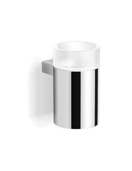 Uchwyt ze szklanką metalowa obudowa 7,5 cm x 10 cm x 12,5 cm Stella Soul 06.413