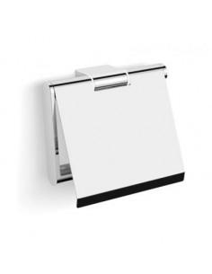 Uchwyt do papieru toaletowego z osłonką ruchomy 13,5 cm x 4 cm x 12 cm Stella Soul 06.440
