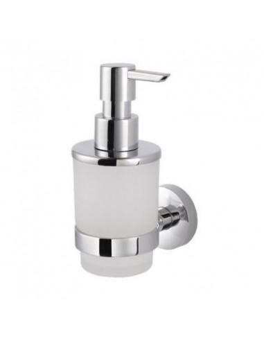 Dozownik do mydła w płynie szkło matowe 7 cm x 10,5 cm x 16 cm Stella Classic 07.425