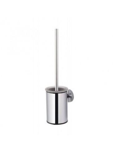 Szczotka WC niska wisząca wkład szklany 9 cm x 11,5 cm x 37 cm Stella Classic 07.434