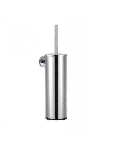 Szczotka WC wysoka wisząca stal szczotkowana 9,5 cm x 11,5 cm x 38 cm Stella Classic 07.435-SB