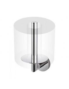 Uchwyt z rozetą na zapasową rolkę papieru toaletowego 8,5 cm x 10 cm x 17,5 cm Stella Classic 07.444