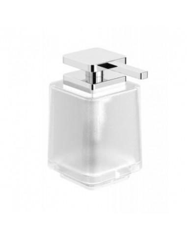 Dozownik do mydła w płynie bez uchwytu szkło matowe 8 cm x 10,5 cm x 14 cm Stella Next 08.423