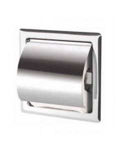 Uchwyt do papieru toaletowego do zabudowy w ścianie 16 cm x 10 cm x 16 cm Stella Dodatki 21.001