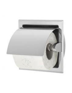 Uchwyt do papieru toaletowego do zabudowy w ścianie na rolce 15,5 cm x 10 cm x 15,5 cm Stella Dodatki 21.004