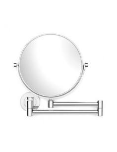 Lusterko kosmetyczne powiększające 3x uchylne podwójne ruchome ramię 28 cm x 4-36 cm x 27 cm Stella Dodatki 22.01130