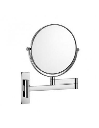 Lusterko kosmetyczne proste powiększenie 3x uchylne podwójne ruchome ramię 24 cm x 3-35 cm x 31,5 cm Stella Dodatki 22.01330