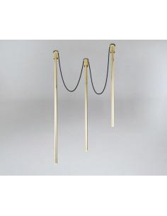 Lampa SHILO DOHAR Alha Y 9003 czarna 9003/G9/cz