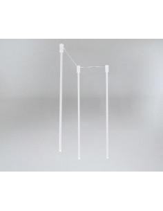 Lampa SHILO DOHAR Alha N 9004 białą/biała 9004/G9/BI/BI