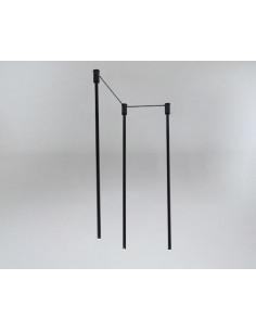 Lampa SHILO DOHAR Alha N 9004 czarny/czarny 9004/G9CZI/CZ