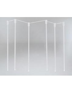 Lampa SHILO DOHAR Alha N 9005 biały/biały 9005/G9/BI//BI