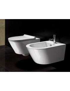 Miska WC wisząca Catalano Zero 55 x 35cm biała + śruby mocujące 1VS55N00