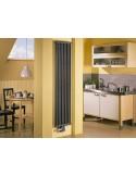 Grzejnik industrialny,loftowy Zehnder Charleston 3220,12 elementów,podłącz 253 (3470 nowe)wysokość 220 cm,kolor technoline mat